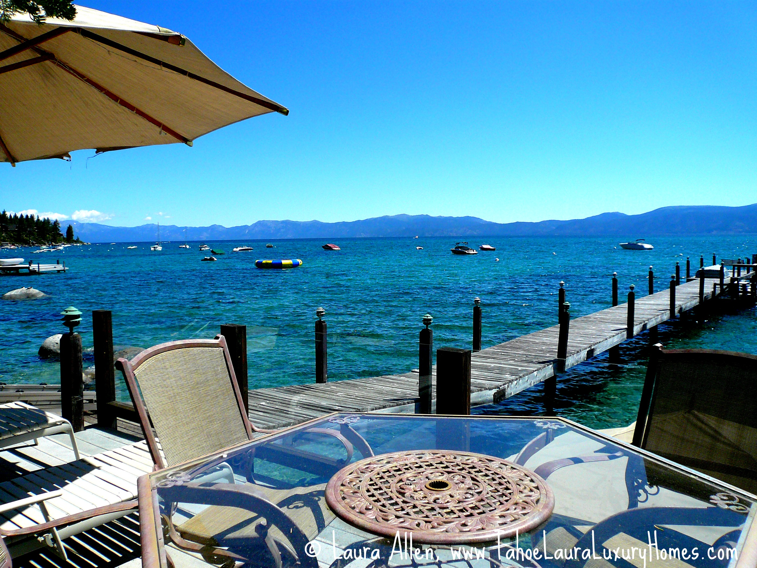 Lakefront Homes Tahoe City North Shore West