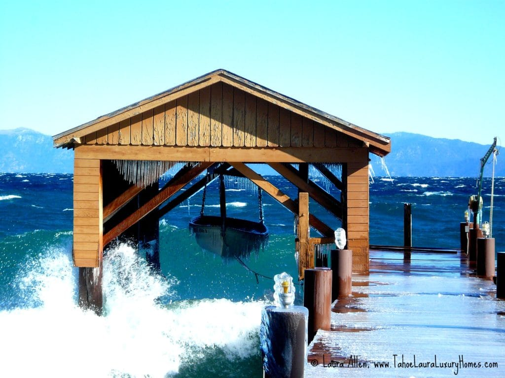 Lakefront homes tahoe city north shore and west shore for Lake house property