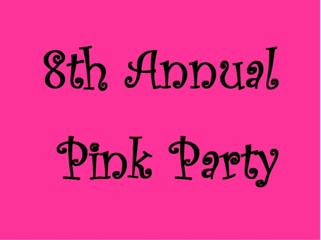 8th Annual Pink Party – Truckee, California