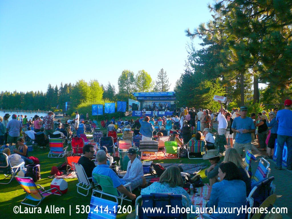 Tahoe City Beach Concerts