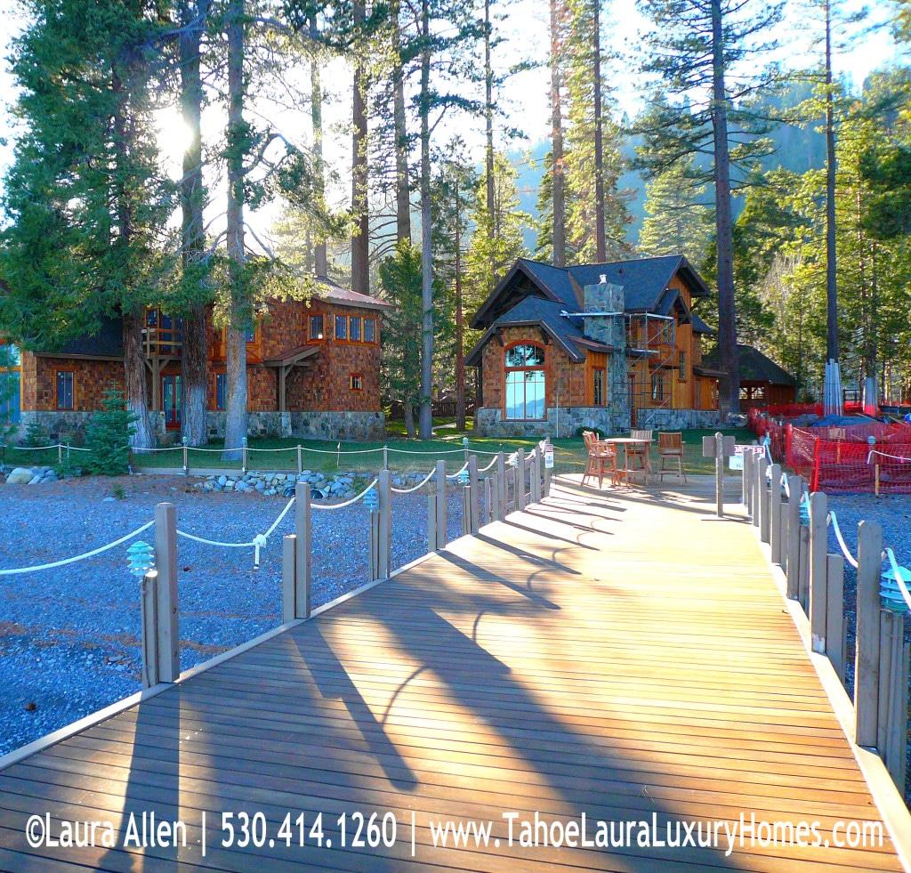 Lakefront Luxury Homes: Lakefront Homes In Homewood, CA 96141