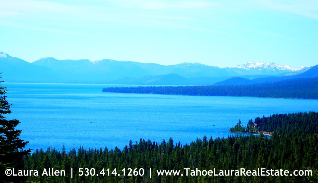 View from Talmont in Tahoe City