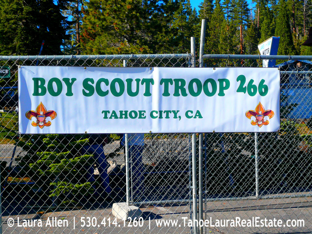 Christmas Trees for Sale - Boy Scout Fund Raiser Tahoe City, CA 2013