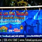Free Beach Music Concerts Kings Beach– 2016