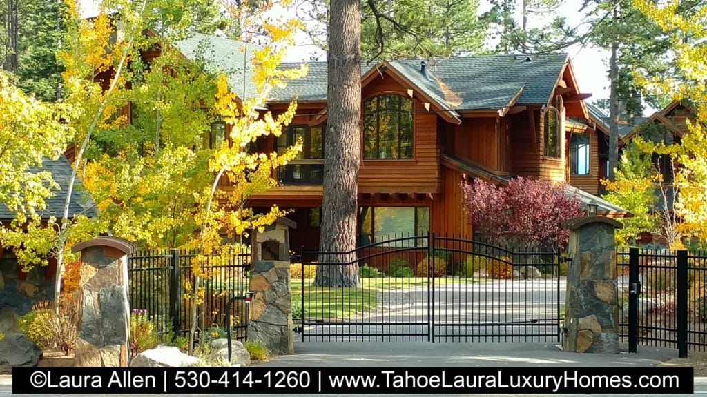 Luxury lake tahoe homes fall lake tahoe truckee luxury for Luxury lake tahoe homes for sale