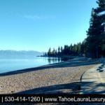 Fall in Tahoe City, California