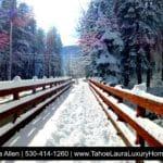 Winter Wonderland North Lake Tahoe – Truckee December 24, 2016