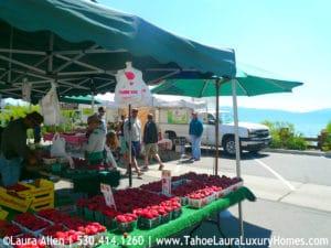Tahoe City Farmers Market 2017