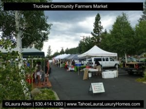 Truckee Farmers Markets - 2017 Schedule