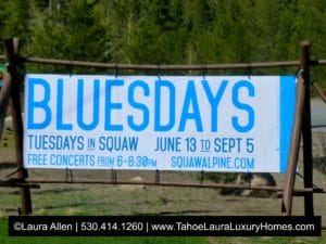 BluesDays Tuesdays Jazz at Squaw Valley 2017
