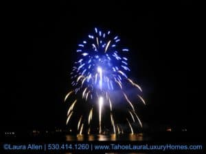 Happy 4th Of July Tahoe City Fireworks 2017