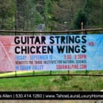 Guitar Strings vs Chicken Wings – Squaw Valley – 2017