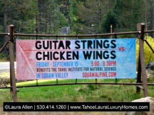 Guitar Strings vs Chicken Wings - Squaw Valley - 2017