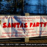Santa's Party – Tahoe City Sat December 9 2017