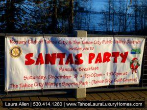 Santa's Party - Tahoe City Sat December 9 2017