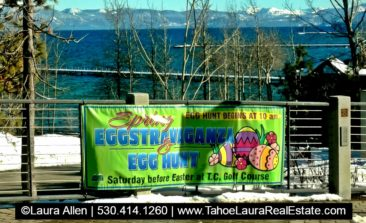 Easter Egg Hunt Tahoe City Saturday March 31 2018