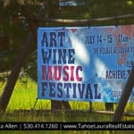 Art Wine and Music Festival July 14-15 2018