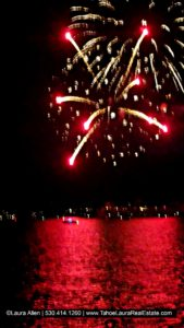 Tahoe City Fireworks 4th of July 2018