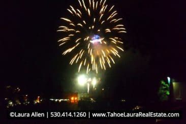 Labor Day Fireworks at Gar Woods Carnelian Bay - 2018