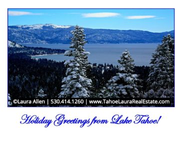 Happy Holidays from Lake Tahoe | December 25, 2018