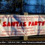 Santa's Party - Tahoe City 2018