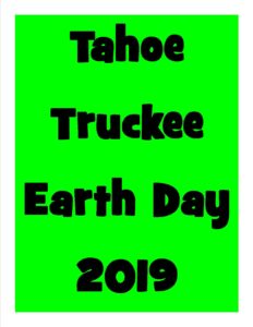 Tahoe Truckee Earth Day 2019