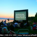 Summer Movies on the Beach Tahoe City 2019