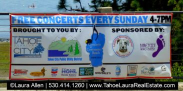 Tahoe City Concerts at Commons Beach - 2019