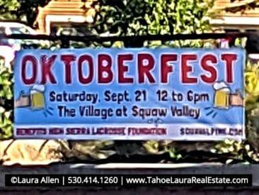 Oktoberfest Village at Squaw Valley - 2019