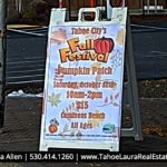 Tahoe City Fall Festival and Pumpkin Patch - 2019