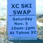 XC Ski Swap – Tahoe City 2019