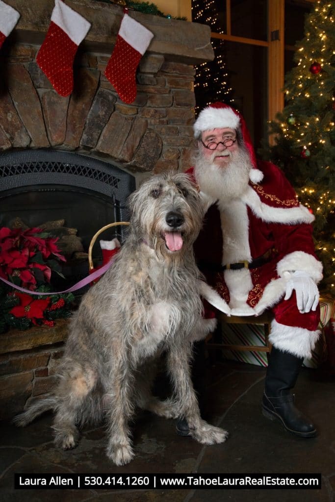Photos With Santa Coldwell Banker Tahoe Donner Monday December 23 2019