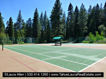Alpine Peaks Homeowners Tennis Courts