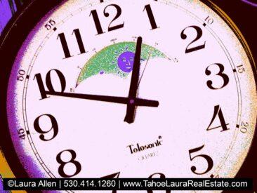 Time Change - Fall Back Sunday, November 1, 2020