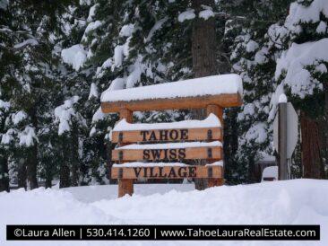 Tahoe Swiss Village Homes for Sale