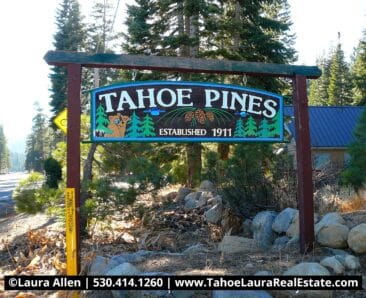 Tahoe Pines Homes for Sale
