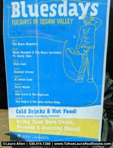 BluesDays Tuesdays Squaw Valley - 2021